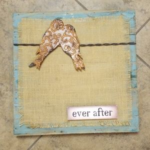 Other - Ever after wall art